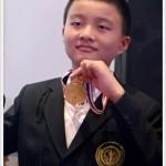 ด.ช. ชยพล เชาว์วีระประสิทธิ์ ได้รับรางวัลเหรียญทอง